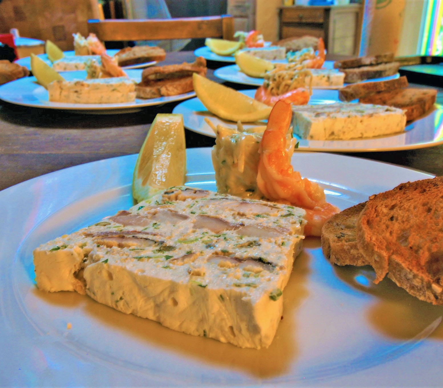 smoked fish terrine